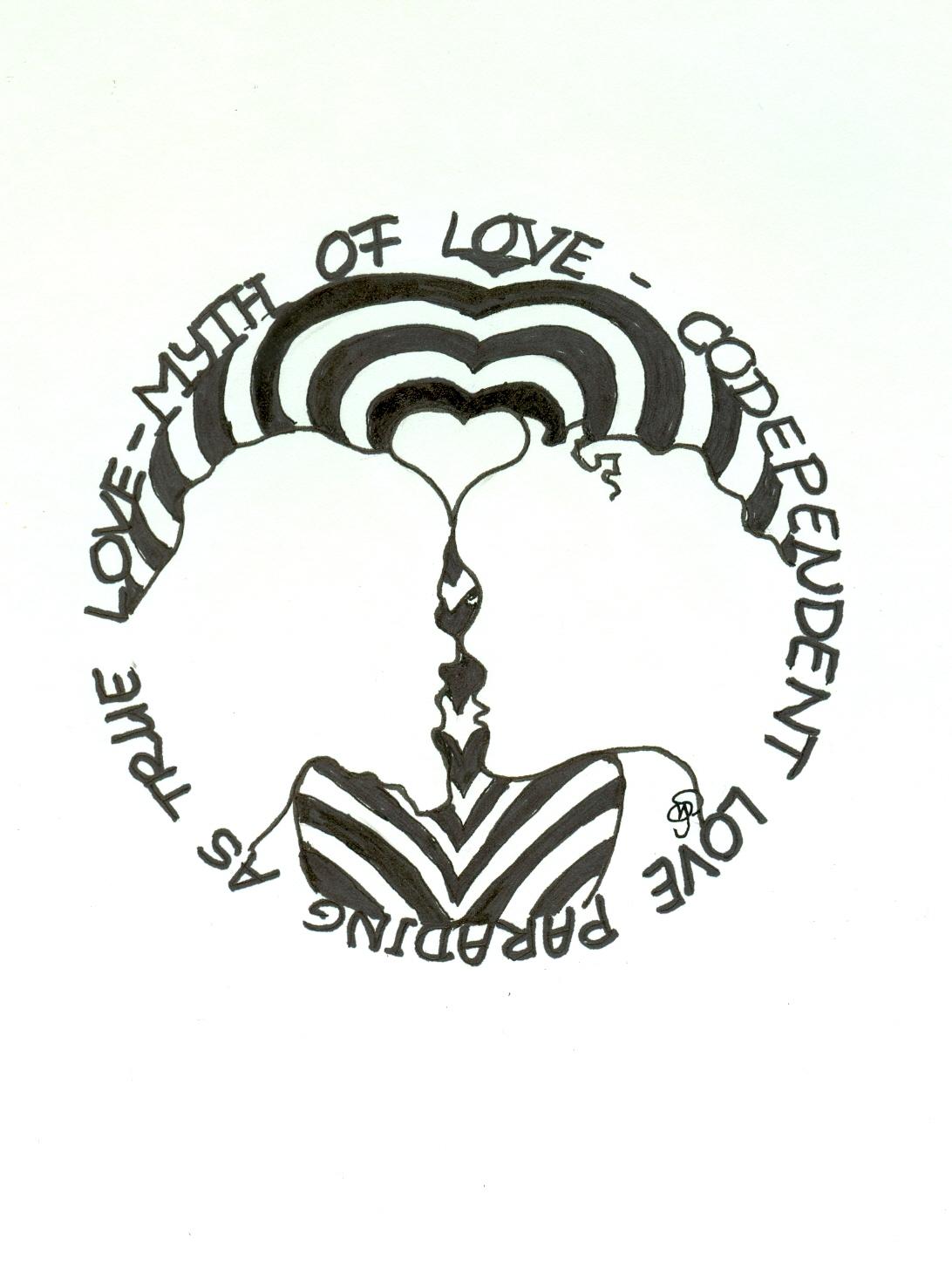 Het sprookje van eeuwige liefde,  ©Monique Spangenberg